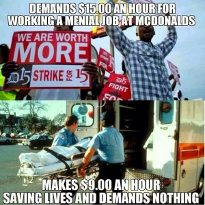 EMS minimum wage